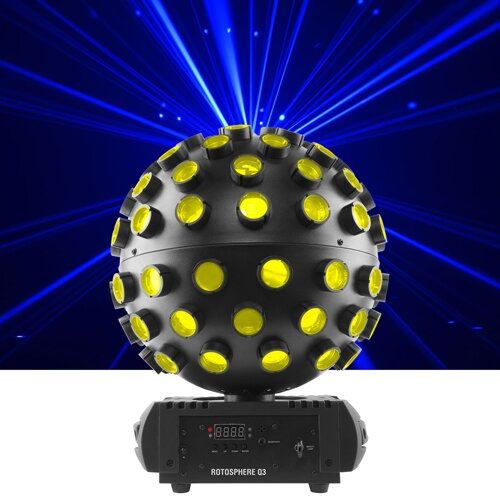 Chauvet DJ Rotosphere Q3 LED spiegelbolsimulator