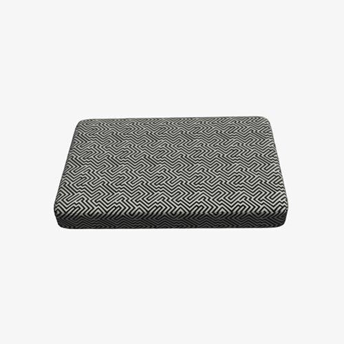 Palletkussen zwart/wit [120*80*8(H)cm]