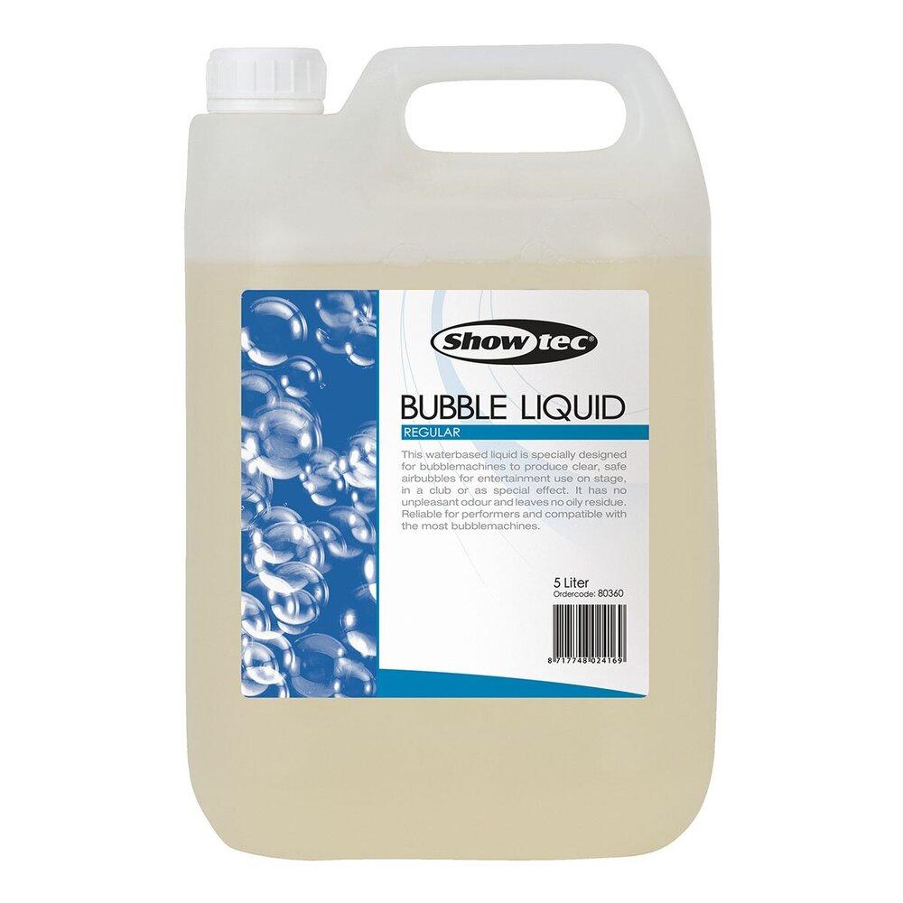 Showtec bellenblaasvloeistof 5 liter